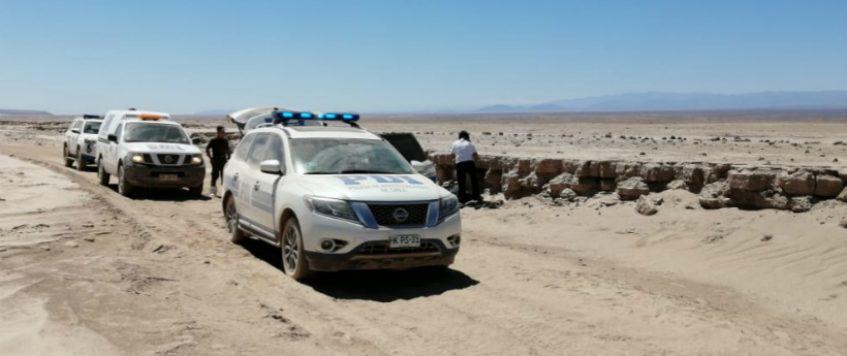 Antofagasta: encuentran cuerpo de una mujer en pleno desierto
